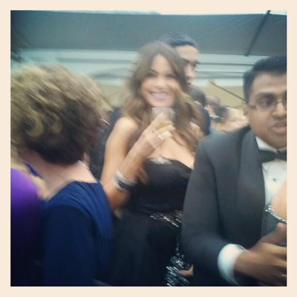 Sofia Vergara is too fast for Yahoo News. #WHCD