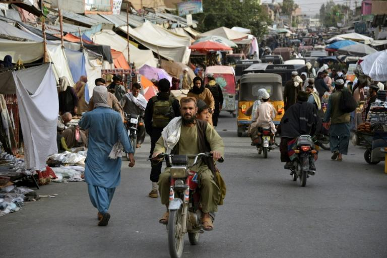 There was optimism and fear among the residents of Kandahar, a former bastion of the Taliban