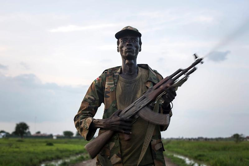 South Sudan has been torn by fighting between forces loyal to the president and rebels since December 2013 and the violence has exploded along ethnic lines. (AFP Photo/Camille Lepage)