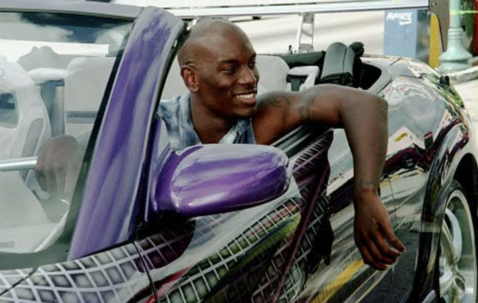 <p>While Tyrese Gibson was primarily known for his career as a singer, his appearance in the <em>Fast and Furious</em> franchise (along with his role in 2001's <em>Baby Boy</em>) firmly established his acting chops. The actor joined the franchise in <em>2 Fast 2 Furious</em> as Roman Pearce. </p>