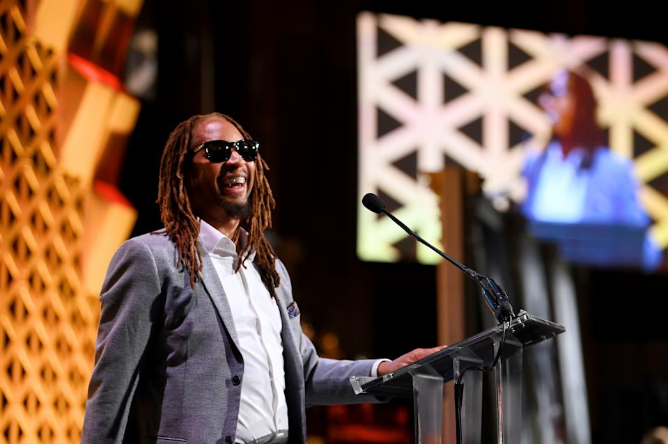 Lil Jon speaks onstage during Pencils Of Promise 2019 Gala on November 04, 2019 in New York City. (Photo by Slaven Vlasic/Getty Images for for Pencils Of Promise)