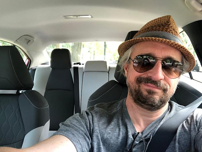 """The Corolla is comfy, but hardly premium. <p class=""""copyright"""">Matthew DeBord/Insider</p>"""