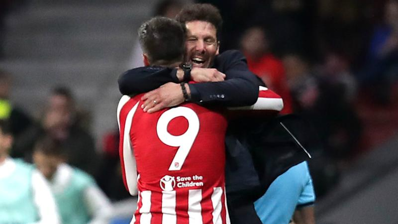 Simeone pleased after Atletico end home drought