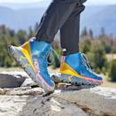 """Hoka's TenNine hiking boot is as close to walking on clouds as you can get in something that's not a <a href=""""https://www.glamour.com/gallery/best-slippers-for-women?mbid=synd_yahoo_rss"""" rel=""""nofollow noopener"""" target=""""_blank"""" data-ylk=""""slk:slipper"""" class=""""link rapid-noclick-resp"""">slipper</a>. The sole is insanely cushiony (peep the foaminess!) and the extended heel ensures an unbeatably smooth glide with every step you take. The waterproof bootie is made with 71% post-consumer recycled GORE-TEX (a waterproof material), and the collar, laces, and heel also feature recycled polyester. $250, Hoka. <a href=""""https://www.hokaoneone.com/women-hiking/tennine-hike-gore-tex/1113511.html?"""" rel=""""nofollow noopener"""" target=""""_blank"""" data-ylk=""""slk:Get it now!"""" class=""""link rapid-noclick-resp"""">Get it now!</a>"""