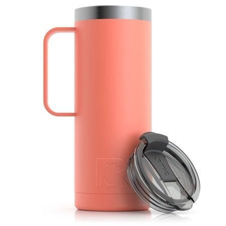 """<h2>RITC Travel Mug</h2><br><strong>Best For: Comfort</strong><br>This mug boasts a 4.7 out of 5-star rating and has over 800 reviews. Customers love RTIC's mug for its heat retention, 25 color options, and comfortable handle design. <br><br>""""I absolutely love my travel mug! The handle is actually big enough to grip with your entire hand or hold onto with just a finger when transporting lots of stuff from the car to the house. The lid is great as far as preventing spills however, it is difficult to remove. That's not going to prevent me from buying one in every fun color!""""<br><br><em>Shop</em> <strong><em><a href=""""https://rticoutdoors.com/"""" rel=""""nofollow noopener"""" target=""""_blank"""" data-ylk=""""slk:RITC"""" class=""""link rapid-noclick-resp"""">RITC</a></em></strong><br><br><strong>RTIC</strong> Travel Mug, $, available at <a href=""""https://go.skimresources.com/?id=30283X879131&url=https%3A%2F%2Frticoutdoors.com%2FTravel-Mugs"""" rel=""""nofollow noopener"""" target=""""_blank"""" data-ylk=""""slk:RTIC"""" class=""""link rapid-noclick-resp"""">RTIC</a>"""