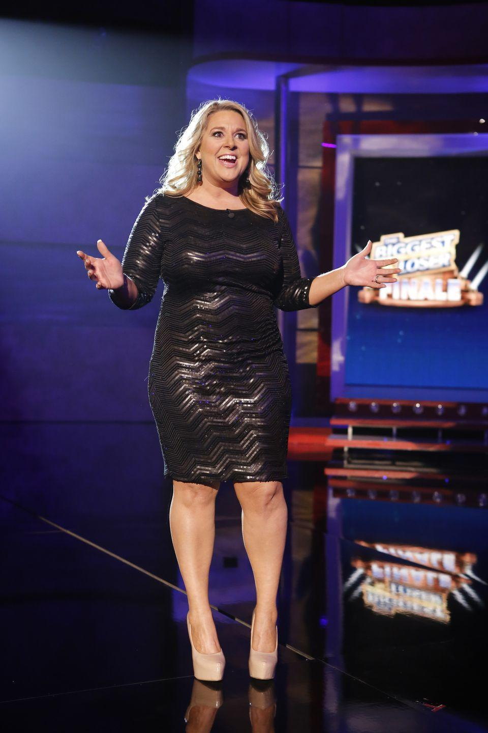 <p>Abby ended up losing 100 pounds, which was 40 percent of her body weight. She's now a motivational speaker.</p>
