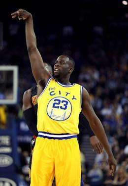 Draymond Green is the fire that drives the Warriors. (Getty Images)