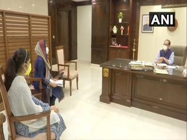 Chief Minister Shivraj Singh Chouhan on Friday met a woman, who was allegedly given instant talaq over the phone by her husband, in Bhopal.