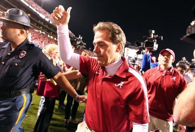 Nick Saban floats the idea of five conferences playing all their games against each other