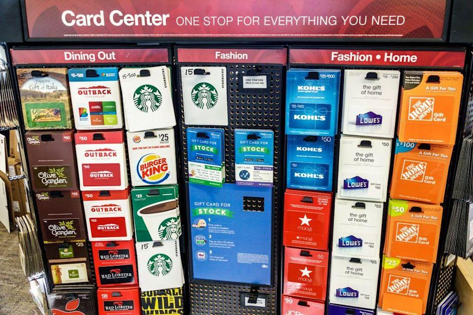 <p>Costco gift cards are a great way to score a value for less, since the bundle price is typically lower than the value of the cards. You can score gift cards to local and national chain restaurants, movie theaters and stores and use them all at a later date.</p>