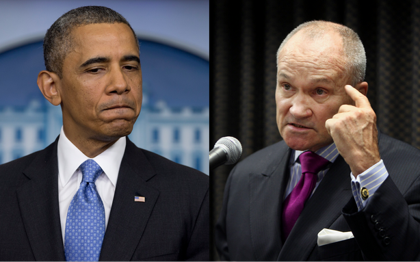 Barack Obama and Ray Kelly Have the Exact Opposite Views on Racial Profiling