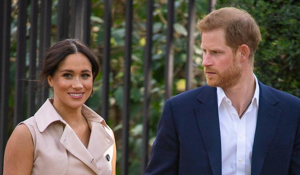 The Duke and Duchess of Sussex (Dominic Lipinski/PA) (PA Archive)