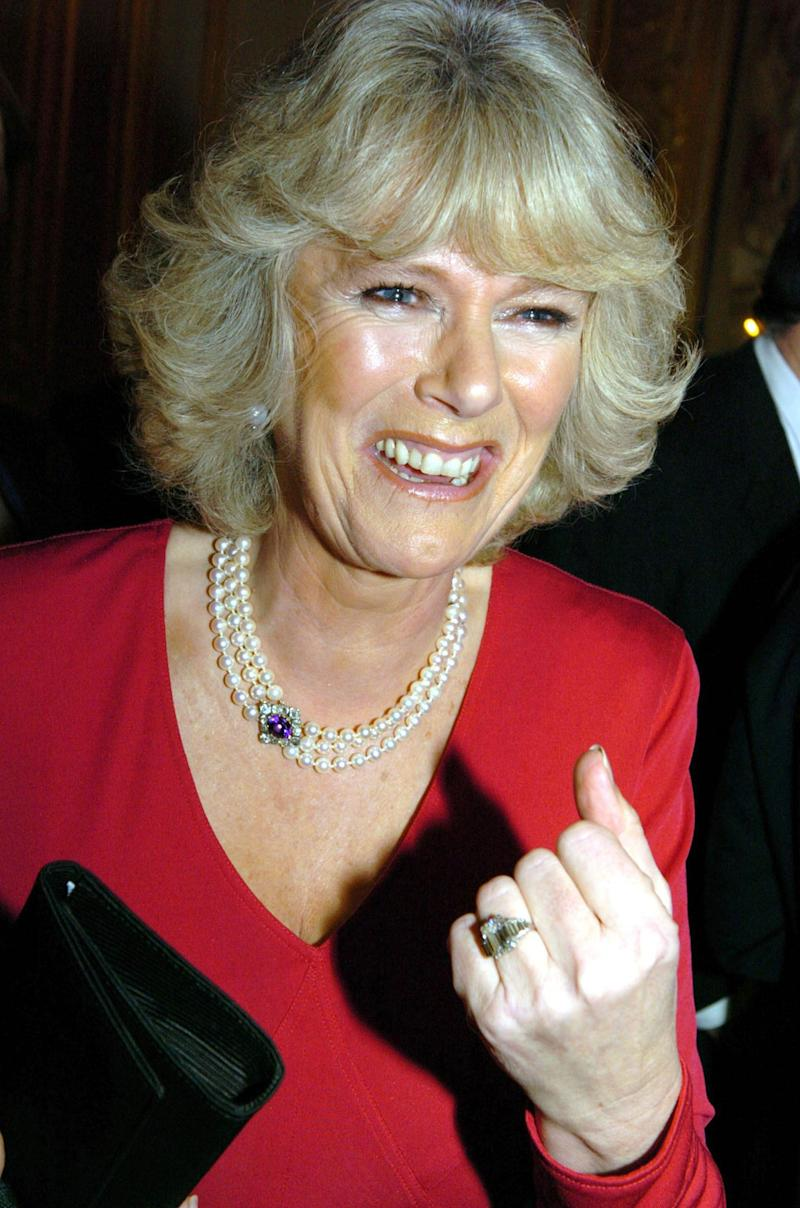 Prince Charles proposed to his longtime love Camilla Parker Bowles with a diamond that once belonged to the Queen Mum. The Art Deco piece is one of the larger engagement rings in the main royal family and is often said to be one of the most valuable.