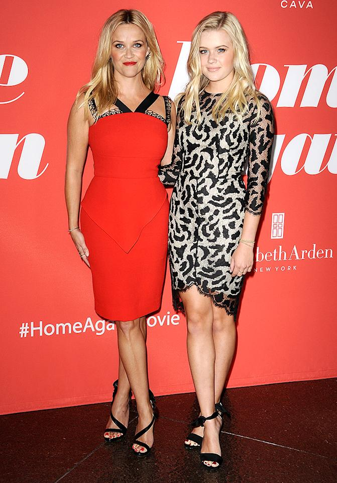 "<p>This mother-daughter duo has their red carpet twinning look down from head to toe… literally. It appears that <em>someone</em> has been getting pointers from mom, as Ava even crosses her legs the same way as Reese. Just look at them at the <i>Home Again</i> premiere. ""I do see the resemblance. She's a beautiful person inside and out,"" <a rel=""nofollow"" href=""https://www.vanityfair.com/style/2017/02/reese-witherspoon-ava-phillippe-big-little-lies-premiere"">Witherspoon previously exclaimed to <i>Vanity Fair</i></a>. ""She's just a good soul. I'm not sure what she thinks. I'm just 'Mom' to her. We're happy to share this wonderful experience. I really have a rich, personal relationship with my daughter. I have a really great career, and it's nice to be able to share it with my kids."" (Photo: Jason LaVeris/FilmMagic) </p>"