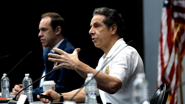 New York's governor expressed concern at the idea of a quarantine