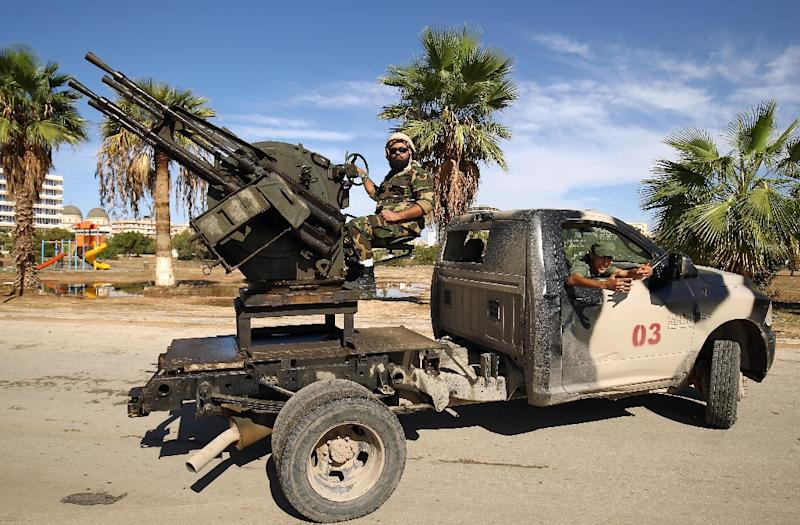 "Khalifa Haftar's self-styled Libyan National Army in mid-January announced the start of an offensive intended to ""purge the south of terrorists and criminal groups"""