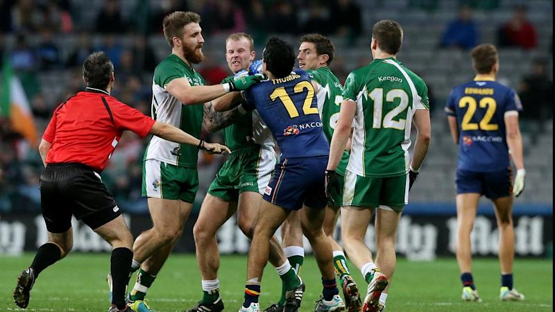 International Rules - Ireland v Australia