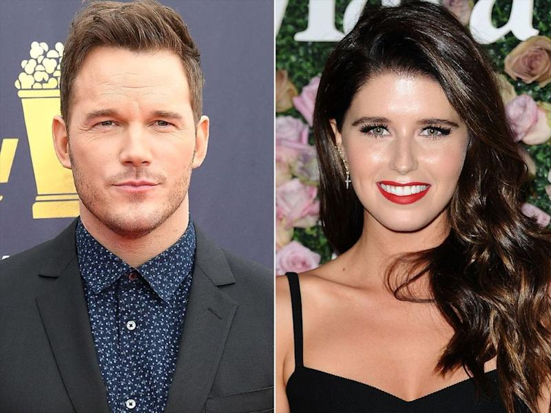 Chris Pratt and Katherine Schwarzenegger.