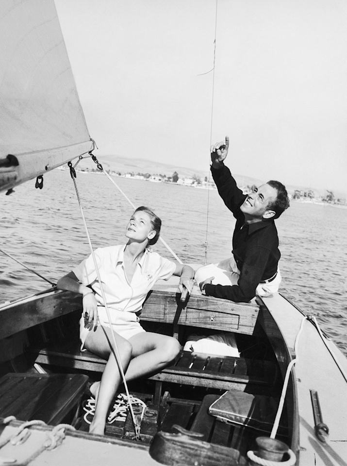 <p>Sailing through the height of their fame together in 1945.</p>
