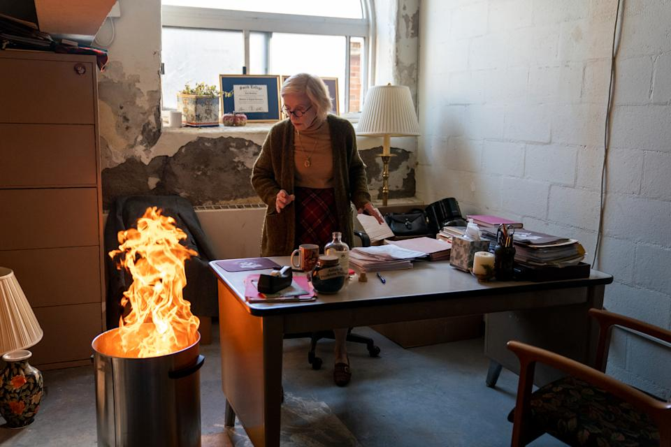Holland Taylor as Joan in episode 103 of
