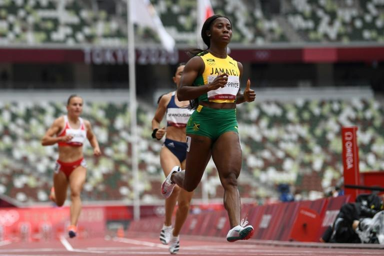 Jamaica's Shelly-Ann Fraser-Pryce is bidding for a third 100m title after winning in 2008 and 2012