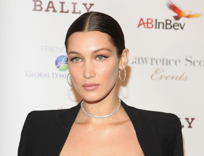 Image result for bella hadid bally