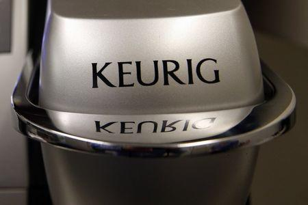 A single-serve Keurig Green Mountain brewing machine is seen in New York February 6, 2015. Picture taken February 6, 2015. REUTERS/Shannon Stapleton