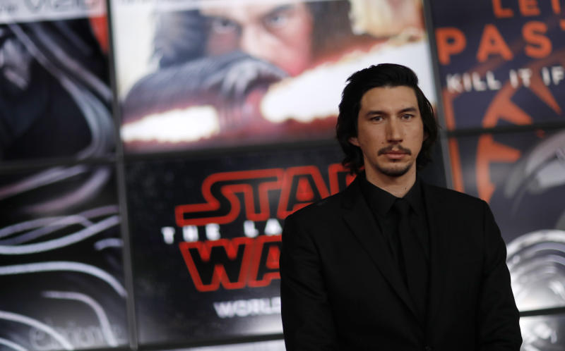 "World Premiere of ""Star Wars: The Last Jedi"" – Arrivals – Los Angeles, California, U.S., 09/12/2017 – Actor Adam Driver. REUTERS/Mario Anzuoni"