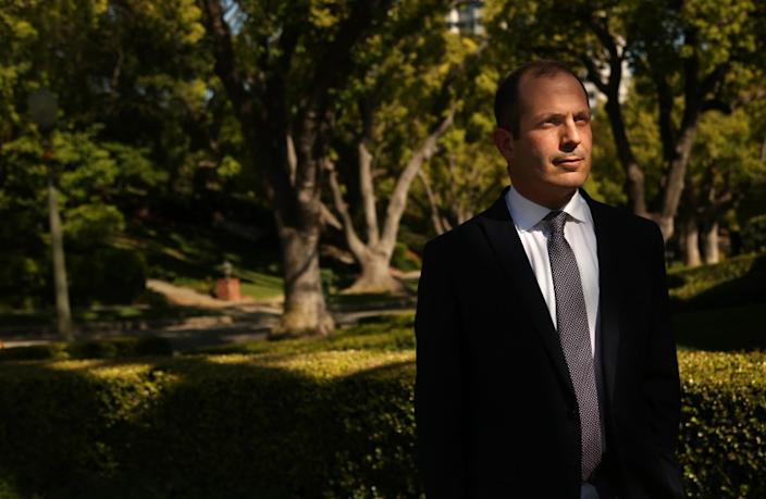 """Dr. Nader Pouratian, a neurosurgeon and researcher at UCLA, has had his work on an system to help blind people put on hold by the coronavirus outbreak — maybe forever. <span class=""""copyright"""">(Genaro Molina / Los Angeles Times)</span>"""
