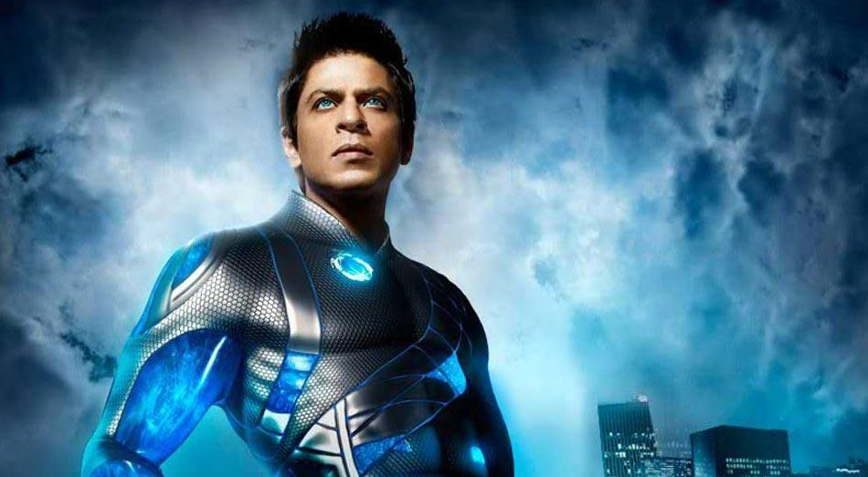 <p>Year 2011 – Ra.One<br />Budget: Rs. 1,30,00,00,000 </p>
