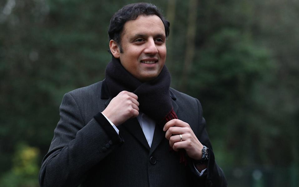 Anas Sarwar, pictured, and Monica Lennon are running for the Scottish Labour leadership - PA