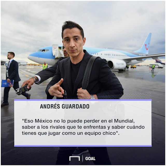 Andrés Guardado quote