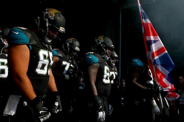 The Jaguars have been playing one game a season in London since 2013. (Getty)