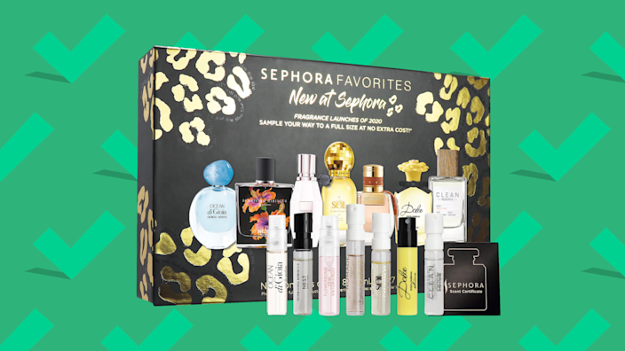 Best gifts for wives 2020: Sephora Favorites Newness Perfume Sampler Set
