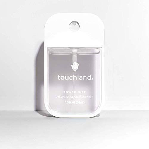 """<p><strong>Touchland</strong></p><p>amazon.com</p><p><a href=""""https://www.amazon.com/dp/B07CTTVR9H?tag=syn-yahoo-20&ascsubtag=%5Bartid%7C2139.g.33415441%5Bsrc%7Cyahoo-us"""" rel=""""nofollow noopener"""" target=""""_blank"""" data-ylk=""""slk:BUY IT HERE"""" class=""""link rapid-noclick-resp"""">BUY IT HERE</a></p><p>Touchland is known for their great packaging, moisturizing oils, and germ-fighting power. It contains 67 percent ethyl alcohol and comes in scented and unscented versions. </p>"""