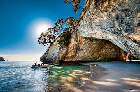 Cathedral Cove boat trip - Credit: © Andy Belcher