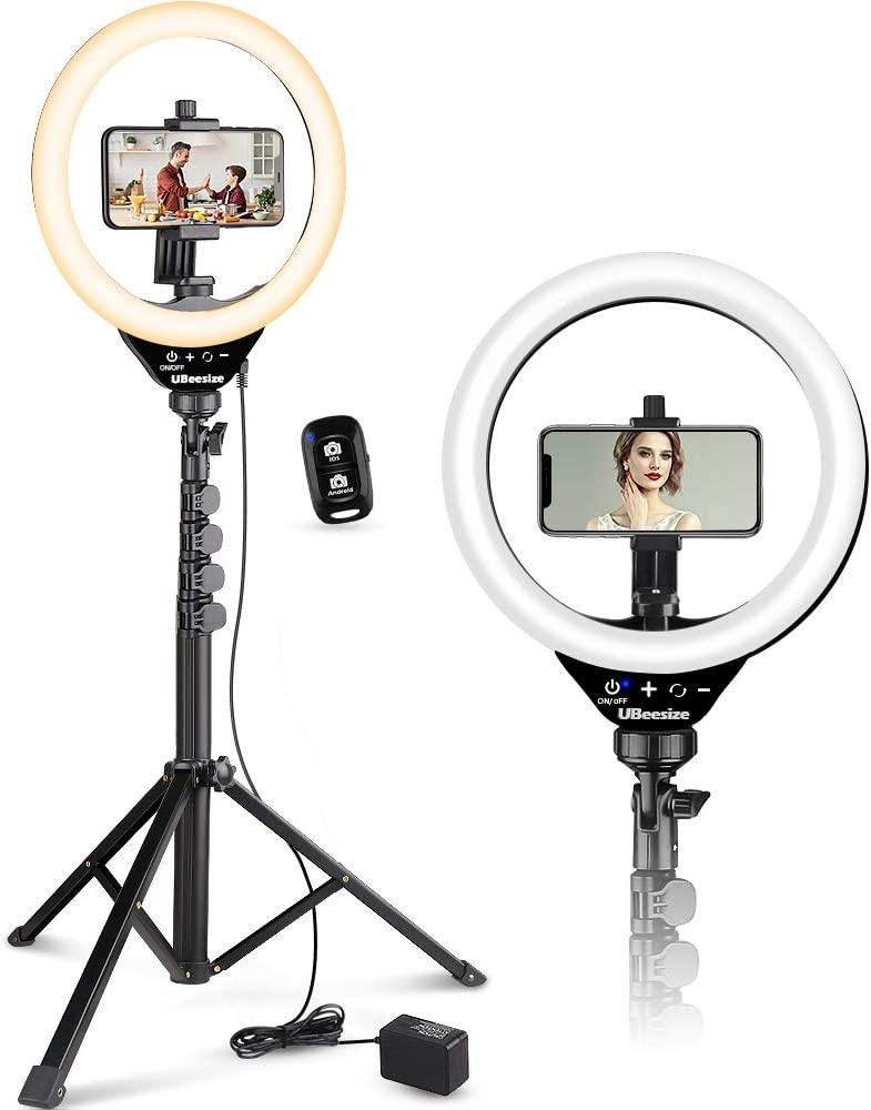The tripod can gives you options—great if you want to show your new dress to your best friend on FaceTime. (Photo: Amazon)