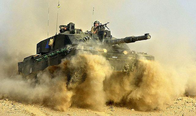 Defence secretary Ben Wallace responds to rumours Britain will drop Army tanks