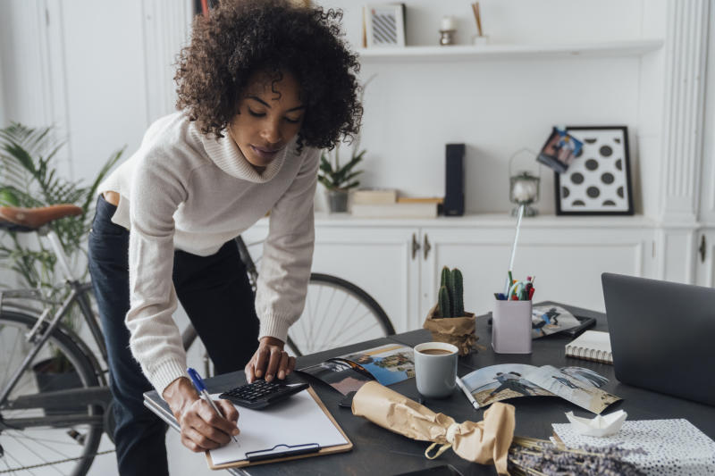Almost a third of women aspire to grow their side hustles into a full-time job, a new report has found. Photo: Getty