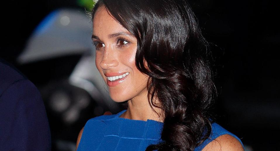 Meghan Markle has sparked pregnancy rumours [Photo: Getty]