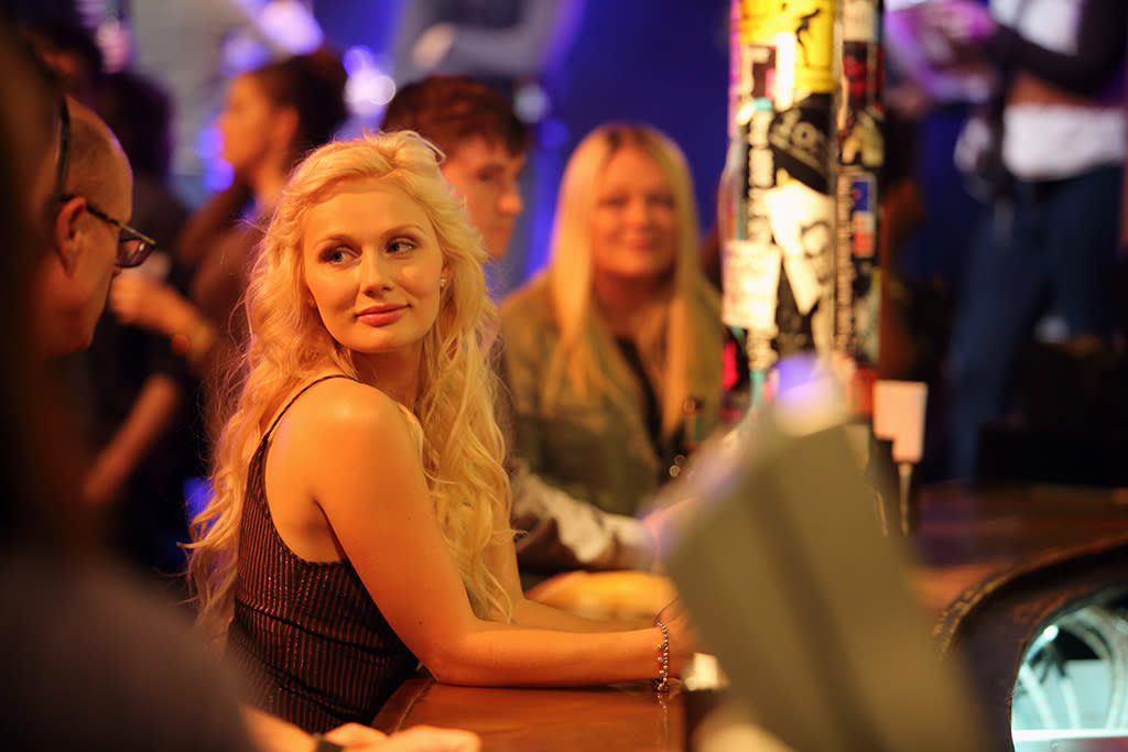 "Clare Bowen in the ""Nashville"" episode, ""Be Careful of Stones That You Throw."""