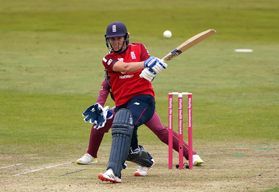 Nat Sciver stressed the importance of securing victory in the opening T20 of the multi-format series (PA Wire)