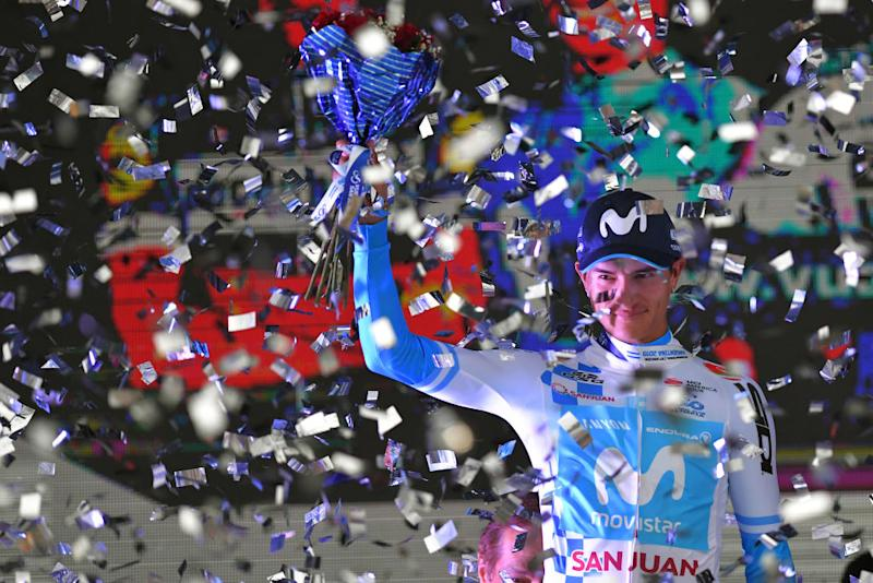 Winner Anacona (Movistar) won the 2019 Vuelta a San Juan