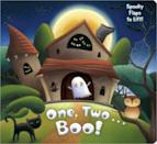 """<p>Your little one will count through a trick-or-treating adventure in <span><strong>One, Two . . . Boo!</strong></span> ($4). The lift-the-flap book has hidden surprises and adorable illustrations that introduce your little one to the fun of <a class=""""link rapid-noclick-resp"""" href=""""https://www.popsugar.com/Halloween"""" rel=""""nofollow noopener"""" target=""""_blank"""" data-ylk=""""slk:Halloween"""">Halloween</a>.</p>"""