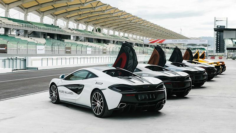 McLaren Debuts New Pure McLaren Race Academy For Enthusiasts and Owners