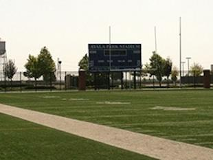 Ayala Park Stadium, the Chino site where dozens of parents brawled during a youth football event — SoCalEagles.com