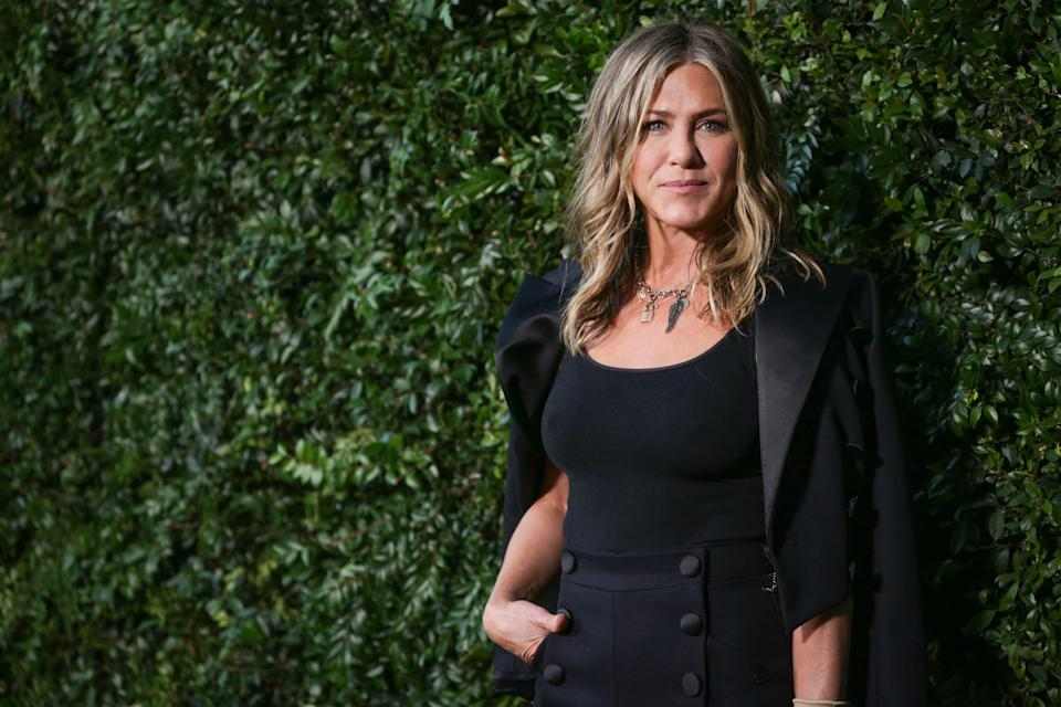 Jennifer Aniston au dîner Chanel à Malibu, le 2 juin 2018 - Rich Fury / GETTY IMAGES NORTH AMERICA / AFP