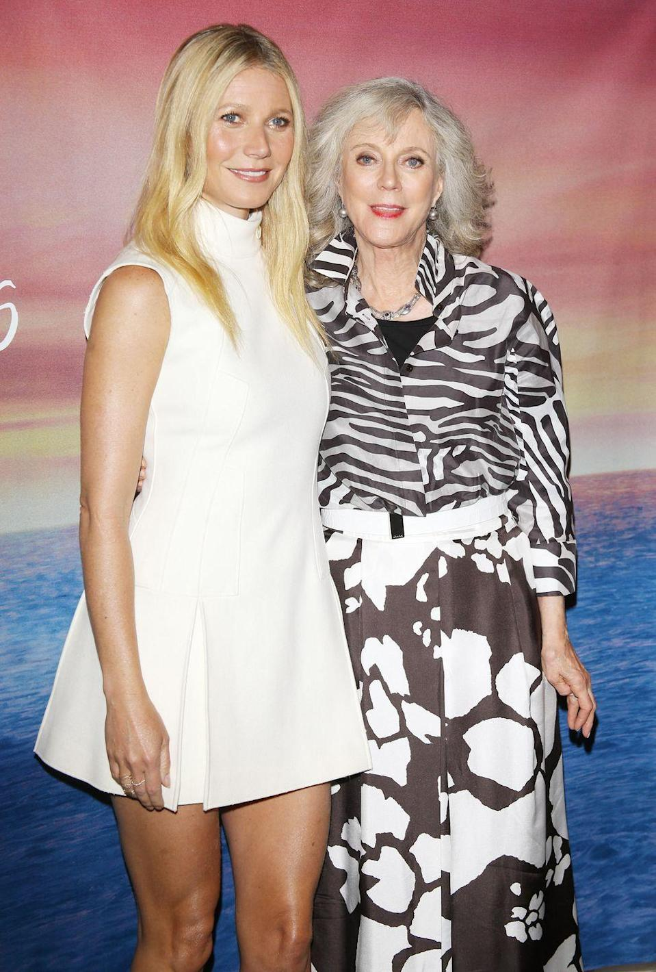 <p> Gwyneth Paltrow inherited her mom's cheekbones, eyes, and flawless skin. </p>