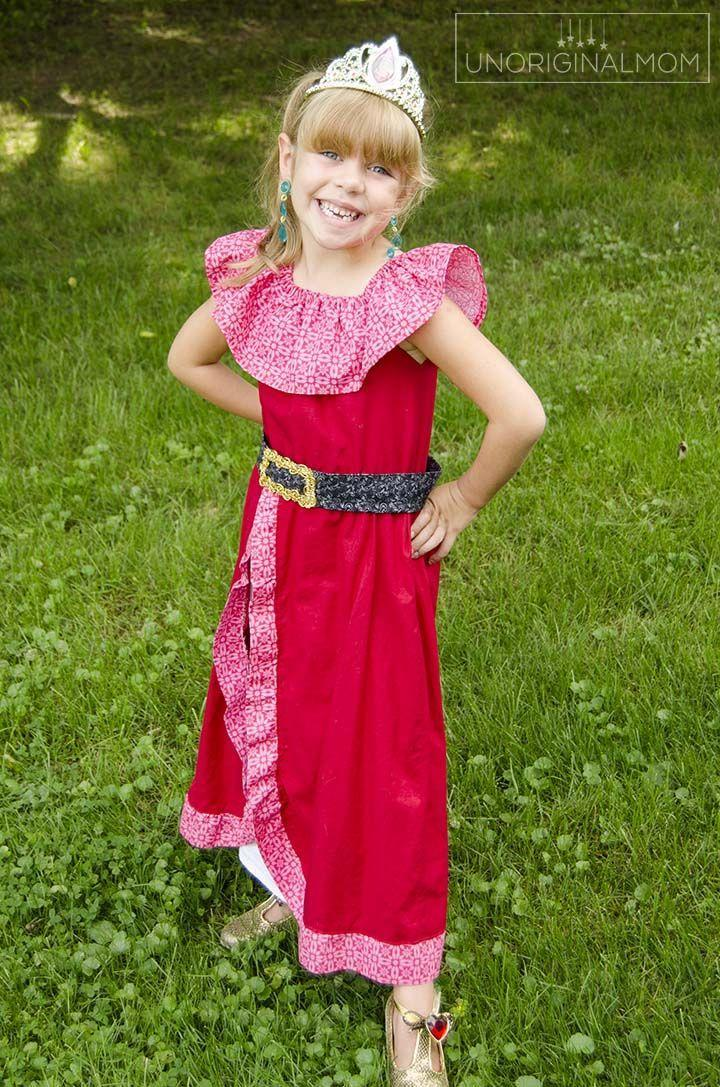 """<p>Little girls are crazy about the brave and beautiful title character of the Disney series. Sew a <a href=""""https://www.countryliving.com/life/kids-pets/g22119101/diy-princess-costumes/"""" rel=""""nofollow noopener"""" target=""""_blank"""" data-ylk=""""slk:princess costume"""" class=""""link rapid-noclick-resp"""">princess costume</a> yours will want to wear long after Halloween is over.</p><p><strong>Get the tutorial at <a href=""""https://www.unoriginalmom.com/diy-elena-of-avalor-costume/"""" rel=""""nofollow noopener"""" target=""""_blank"""" data-ylk=""""slk:Unoriginal Mom"""" class=""""link rapid-noclick-resp"""">Unoriginal Mom</a>.</strong> </p>"""