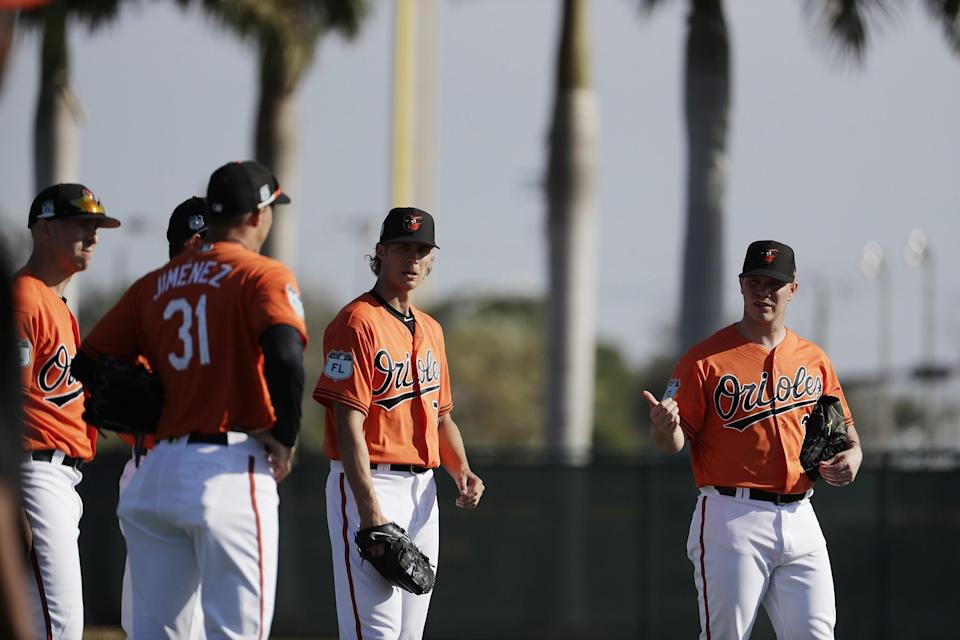 A lot of the Orioles' success will depend on their young pitchers taking a step forward. (AP)